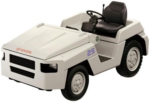 tractor de arrastre comustión 2TG