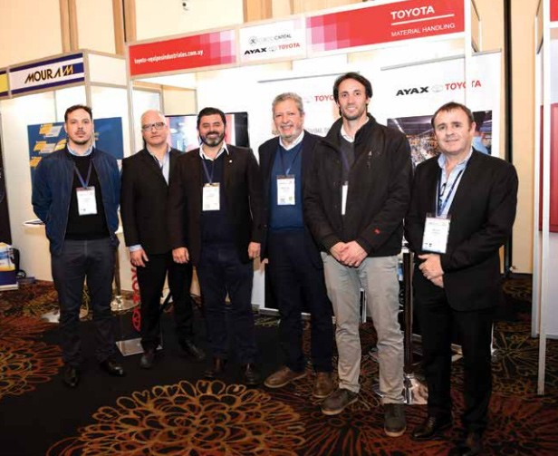 personal del área de Equipos Industriales Uruguay