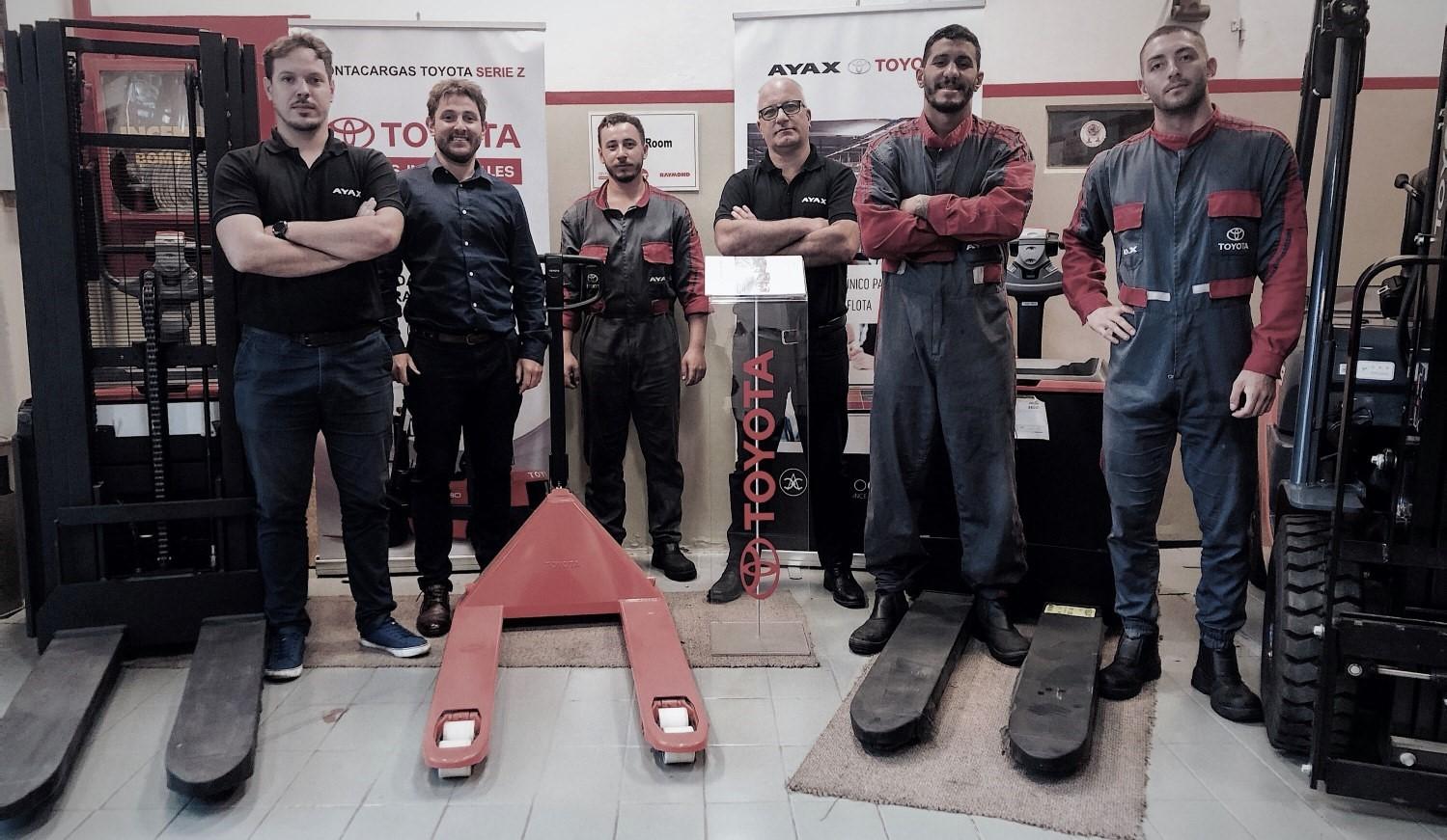 El equipo tras Equipos Industriales